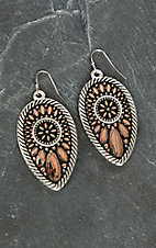 Montana Silver Smith Sunset Prairie Clover Earrings