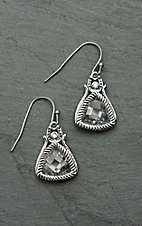 Montana Silver Smith Hidden Treasure Horseshoe Earrings