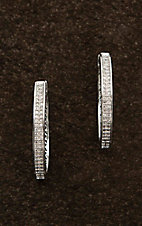 Montana Silversmiths Silver Shining Oval Earrings