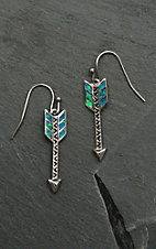 Montana Silversmiths Sky Fletched Arrow Earrings