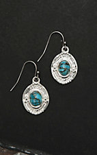 Montana Silver Smith Glacier Pool of Turquoise Earrings