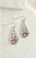 Montana Silversmiths Gates of the Mountains Wildflowers Earrings