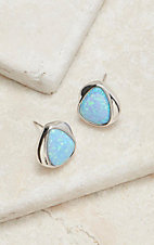 Montana Silversmiths River of Lights Abstract Teardrop Earrings