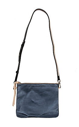 Consuela Frida Starlee Navy Leather Crossbody Bag