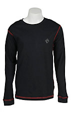 Rock & Roll Men's Black Flame Resistant Long Sleeve Shirt