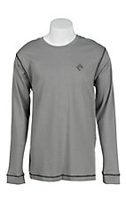 Rock & Roll Grey Men's Flame Resistant Long Sleeve Shirt