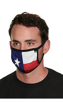Hooey Texas Flag Unisex Cloth Face Mask