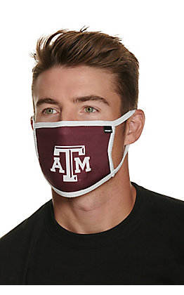 Hooey Texas A&M Unisex Cloth Face Mask