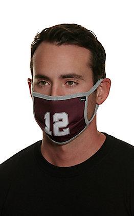 Hooey Texas A&M 12th Man Unisex Cloth Face Mask