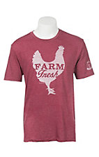 Mason Jar Label Cardinal Farm Fresh T-Shirt