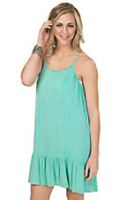 PPLA Women's Seafoam Adelaide Sleeveless Racer Back Dress