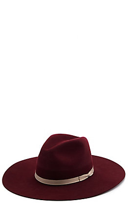 Rodeo King 7X Women's Blakely Merlot Fur Felt Cowboy Hat