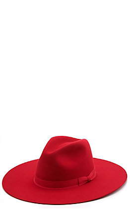 Rodeo King 7X Women's Blakely Red Fur Felt Cowboy Hat