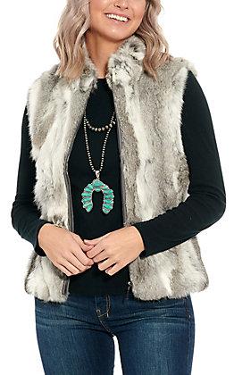 Cowgirl Legend Women's Rabbit Fur Vest