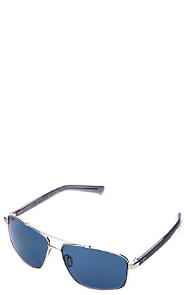 Costa Silver Flagler Polarized Sunglasses
