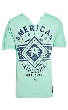 American Fighter Men's Beach Glass Santa Clara Short Sleeve T-Shirt