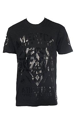 American Fighter Men's Black West End Short Sleeve T-Shirt