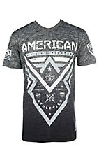American Fighter Men's Black Lakehurst Short Sleeve T-Shirt