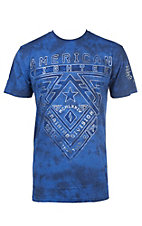 American Fighter Men's Royal Crossroads Short Sleeve T-Shirt