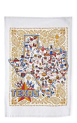 One Hundred 80 Degrees Keep the Faye Texas State Tea Towel