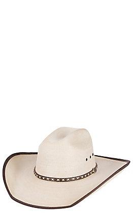 eb40525e5d70c Cavender s 20X Ponderosa Bound Edge Palm Leaf Cowboy Hat