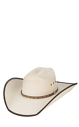 Cavender's Ranch Collection Ivory Palm Ponderosa Cowboy Hat