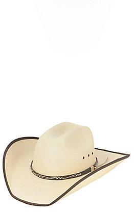 Cavender's 20X Ponderosa Palm Leaf Bound Edge Cowboy Hat