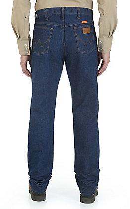 Wrangler Men's Original Fit Prewashed Flame Resistant Big Jean