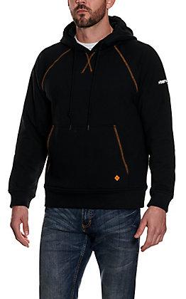 Wrangler Men's Black FR Flame Resistant Long Sleeve Pullover Hoodie