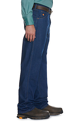 Wrangler Men's Prewashed Relaxed Fit Flame Resistant Jeans