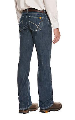 Wrangler FR 20X Men's Dark Wash 42 Vintage Boot Jean
