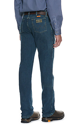 Wrangler Men's Advanced Comfort Regular Fit Boot Cut FR Jean