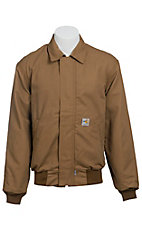 Carhartt FR Brown All-Season Bomber Jacket