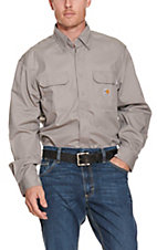 Carhartt Flame Resistant Grey Twill Shirt