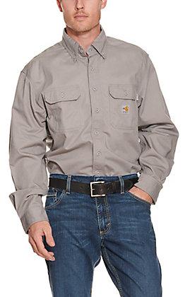 Carhartt FR Grey Twill Shirt
