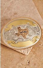 Montana Silversmiths German Silver Texas Trophy Buckle