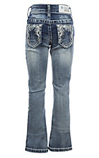 Grace in LA Girls Bling Open Pocket Jeans
