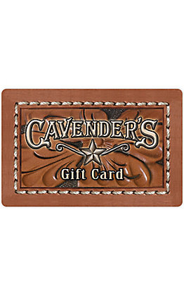 Cavender's Physical Gift Card