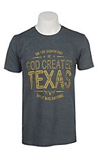 Men's God Created Texas T-Shirt