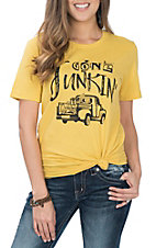 Ruby's Rubbish Yellow Gone Junkin S/S T-Shirt