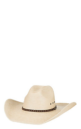 Cavender's Ranch Collection 15X Ivory Guatemalan Palm Duke Cowboy Hat