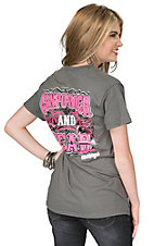 Girlie Girl Originals Women's Charcoal Gunpowder and Lead Short Sleeve T-Shirt