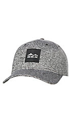 BEX Heather Charcoal Hydra w/ Square Patch Snap Back Cap