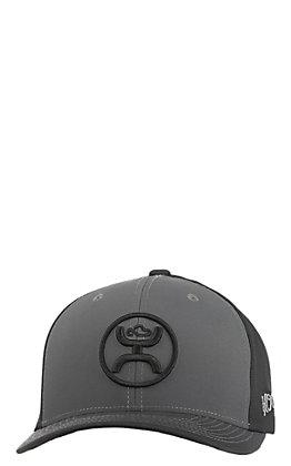 HOOey Men's Grey Fade Fade Snapback Cap