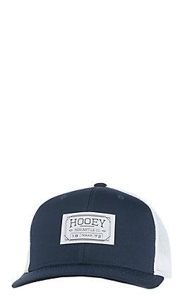 HOOey Navy Brands Supply Patch Mesh Back Cap