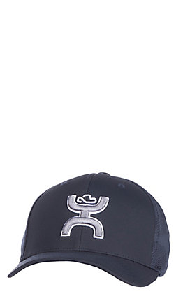 HOOey Two Tone Navy Logo Flex Fit Cap