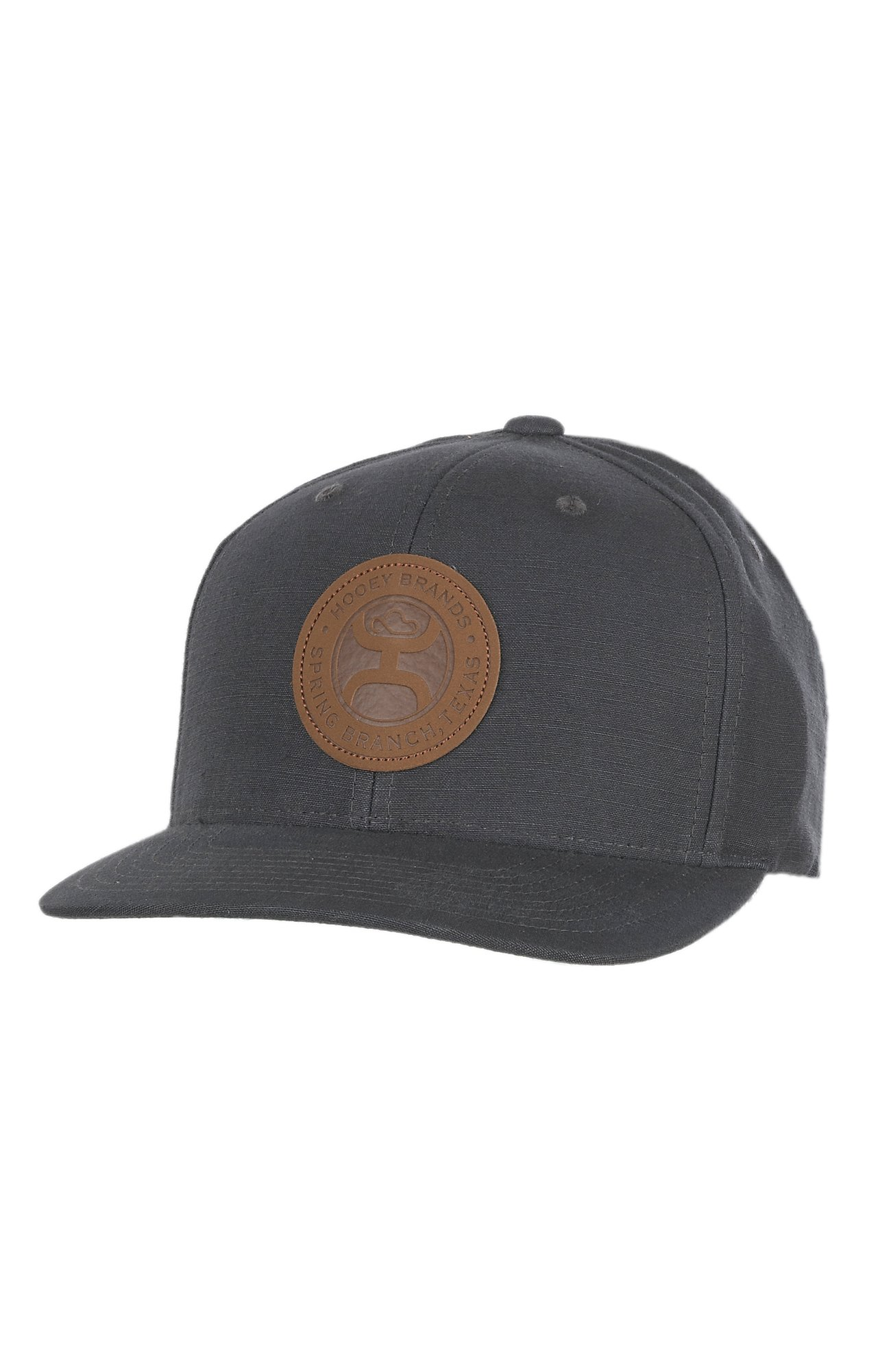 58e44147c sale bunkhousewestern mens ladies kids caps dac31 f85ca; cheapest hooey  solid buck grey w leather logo patch snap back cap cavenders f5e17 54ac3