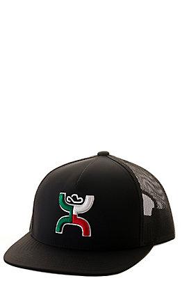 Hooey Black Boquillas Logo & Mesh Back Cap