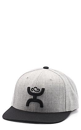 HOOey Men's Grey & Black Cap