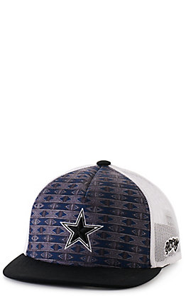 Hooey Youth Navy and White with Dallas Cowboys Star Cap